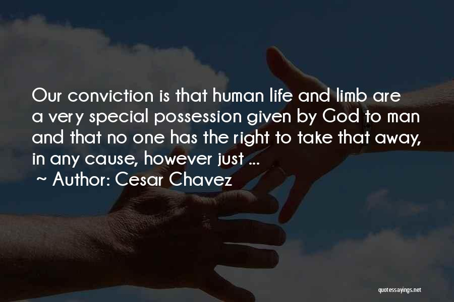 No Humanity Quotes By Cesar Chavez