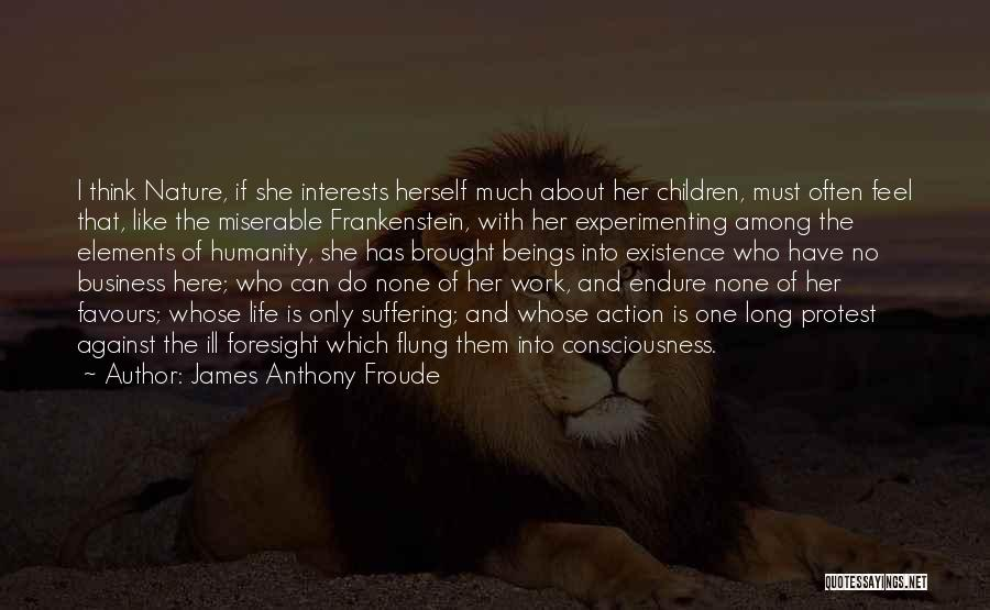 No Humanity Quotes By James Anthony Froude