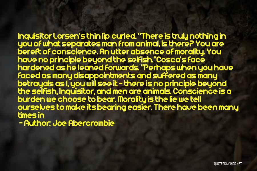 No Humanity Quotes By Joe Abercrombie