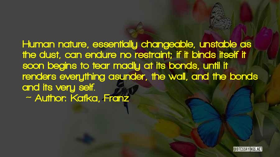 No Humanity Quotes By Kafka, Franz