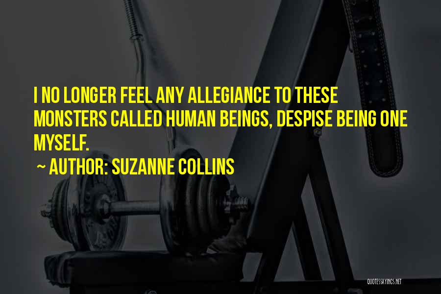 No Humanity Quotes By Suzanne Collins