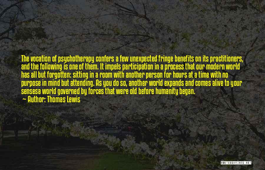 No Humanity Quotes By Thomas Lewis