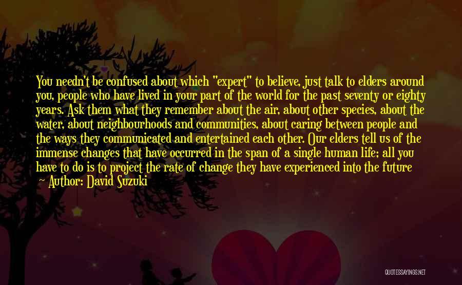 No Idea About Future Quotes By David Suzuki