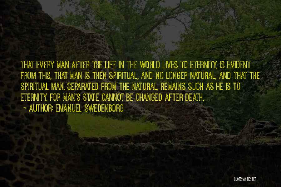 No Life After Death Quotes By Emanuel Swedenborg