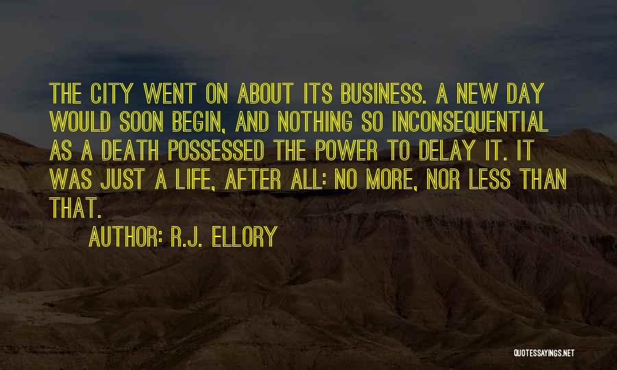 No Life After Death Quotes By R.J. Ellory
