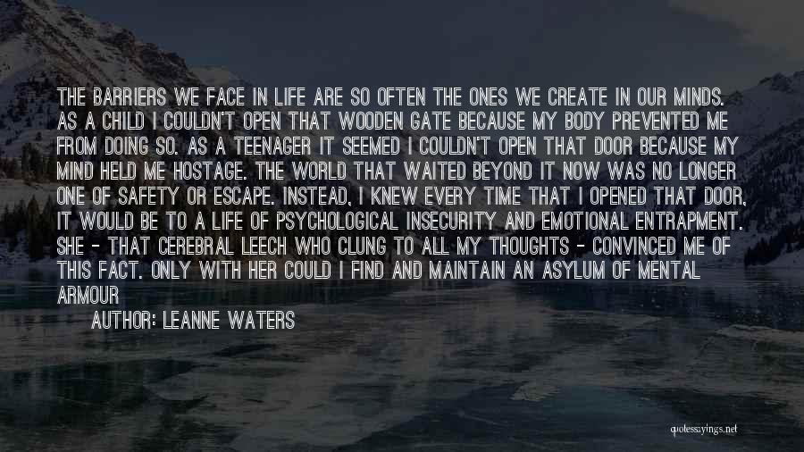 No Longer A Teenager Quotes By Leanne Waters
