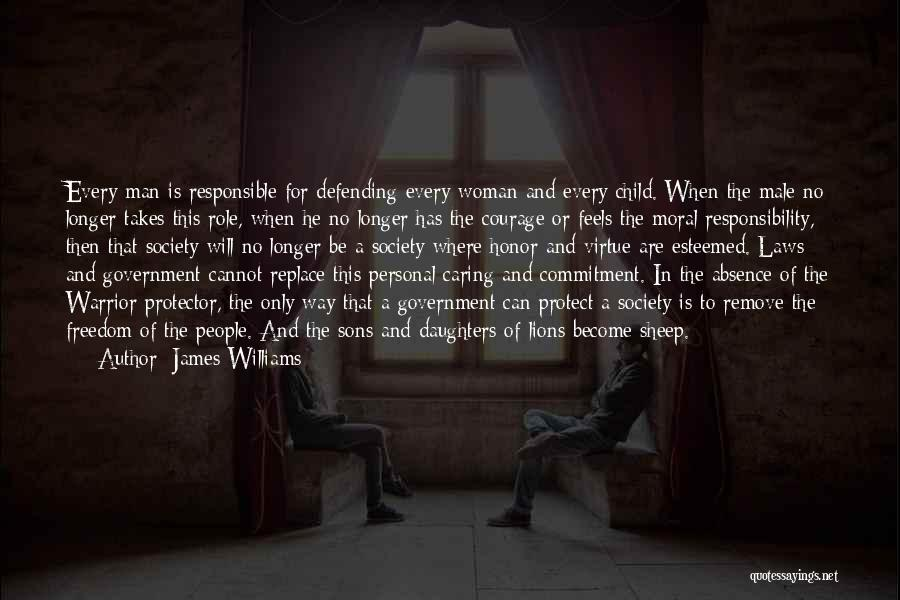 No Longer Caring Quotes By James Williams