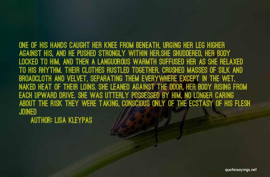No Longer Caring Quotes By Lisa Kleypas