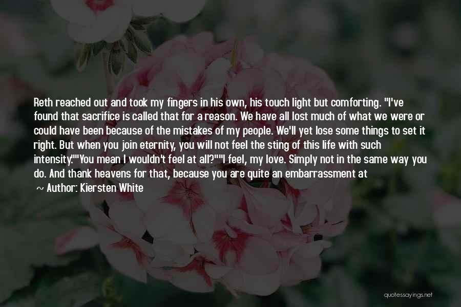 No Love Found Quotes By Kiersten White