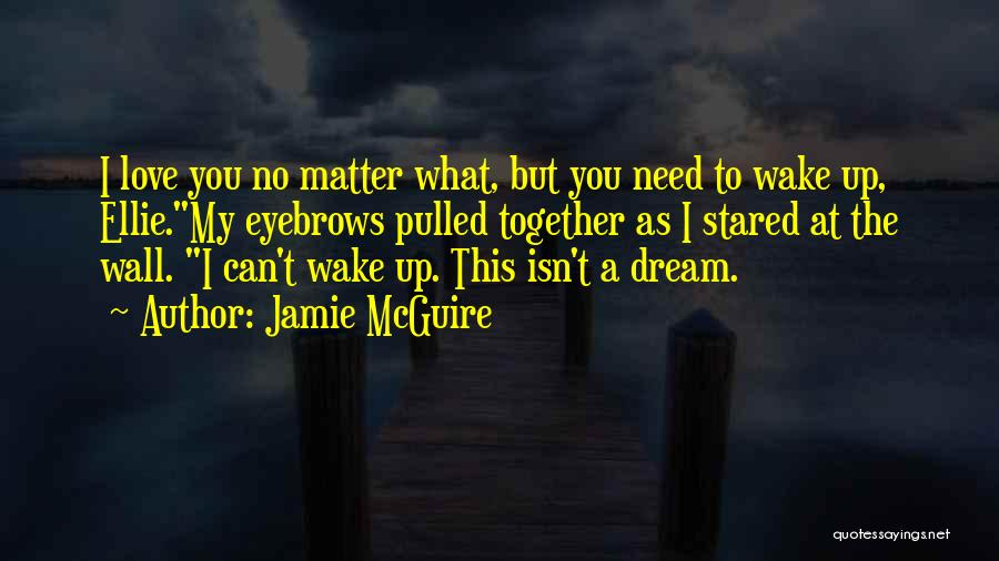 No Matter What I Love You Quotes By Jamie McGuire