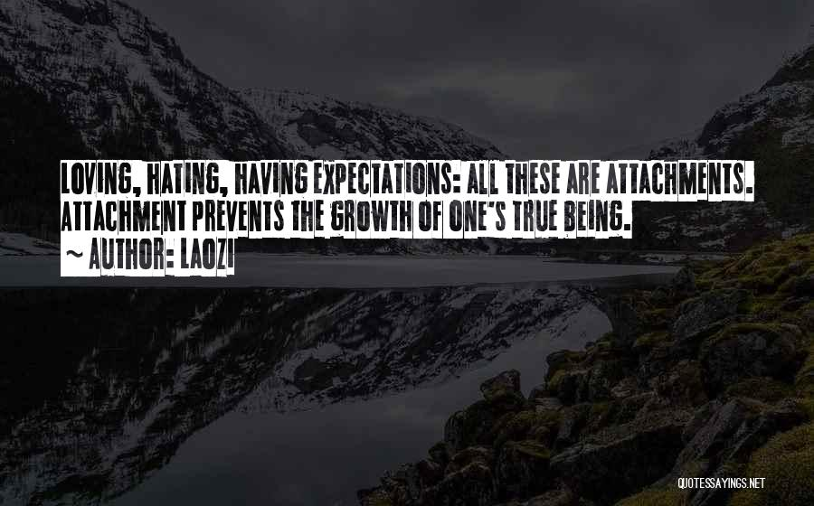 No More Attachments Quotes By Laozi