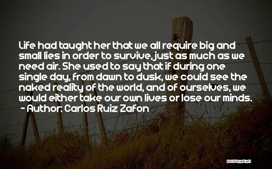 No Need To Say Sorry Quotes By Carlos Ruiz Zafon