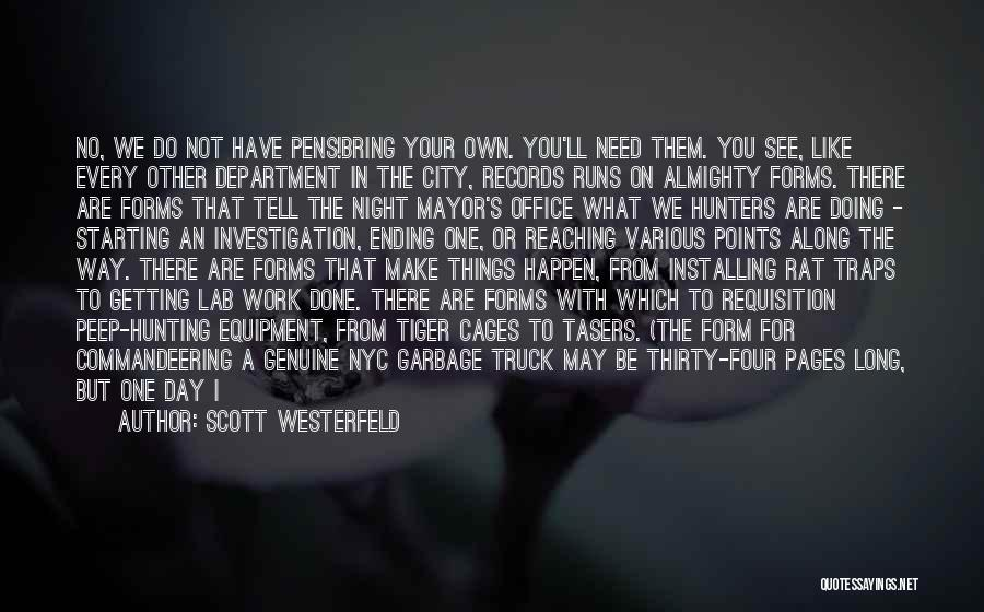 No Off Switch Quotes By Scott Westerfeld