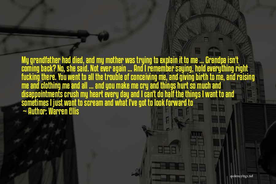 No Off Switch Quotes By Warren Ellis
