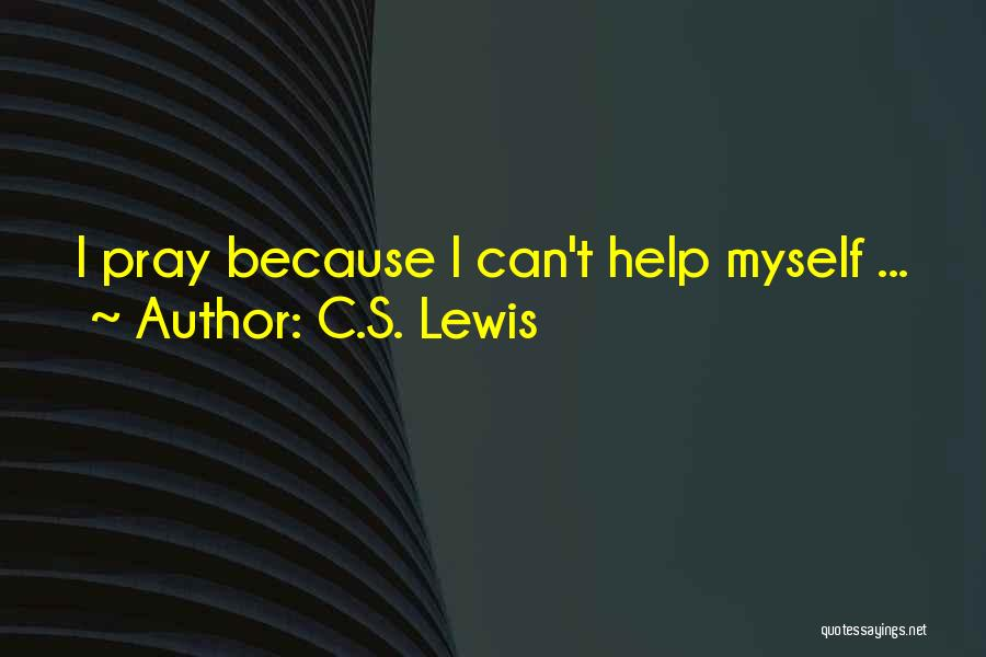 No One Can Help You But Yourself Quotes By C.S. Lewis