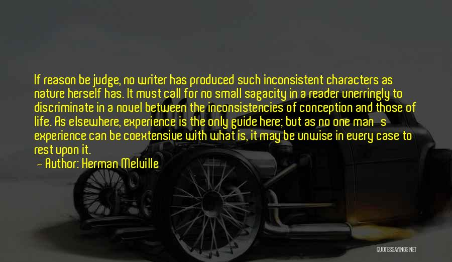 No One Can Judge Quotes By Herman Melville