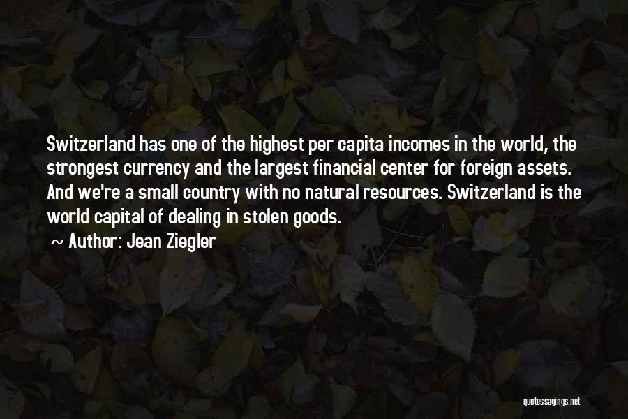 No One In The World Quotes By Jean Ziegler