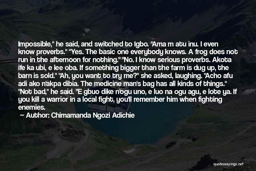 No One Knows Me Quotes By Chimamanda Ngozi Adichie