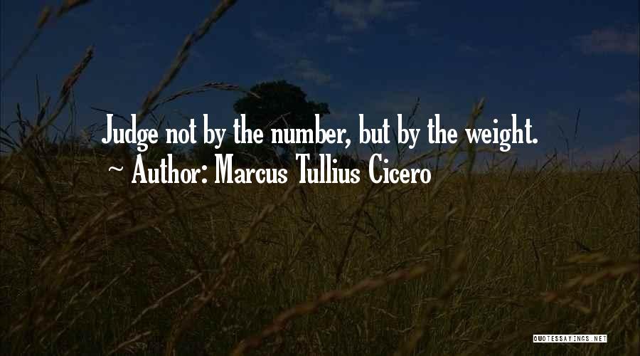 No One Should Judge Quotes By Marcus Tullius Cicero