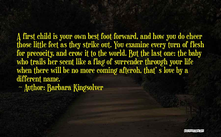 No One Will Love You More Quotes By Barbara Kingsolver