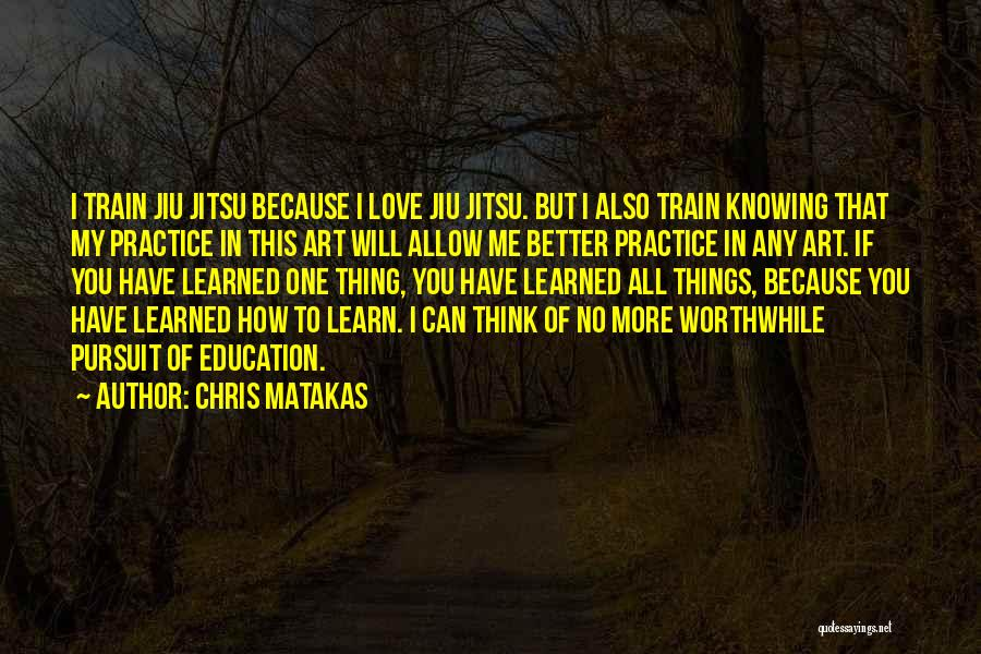 No One Will Love You More Quotes By Chris Matakas