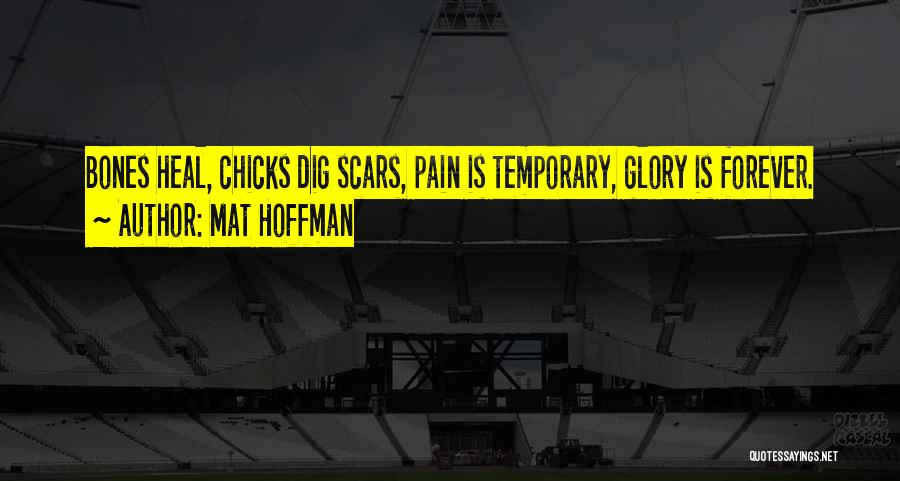 No Pain No Glory Quotes By Mat Hoffman
