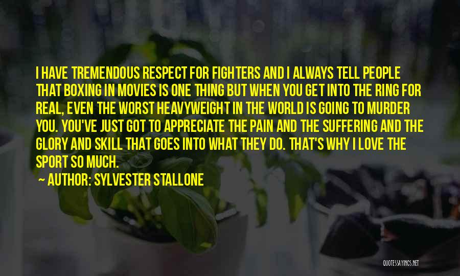 No Pain No Glory Quotes By Sylvester Stallone