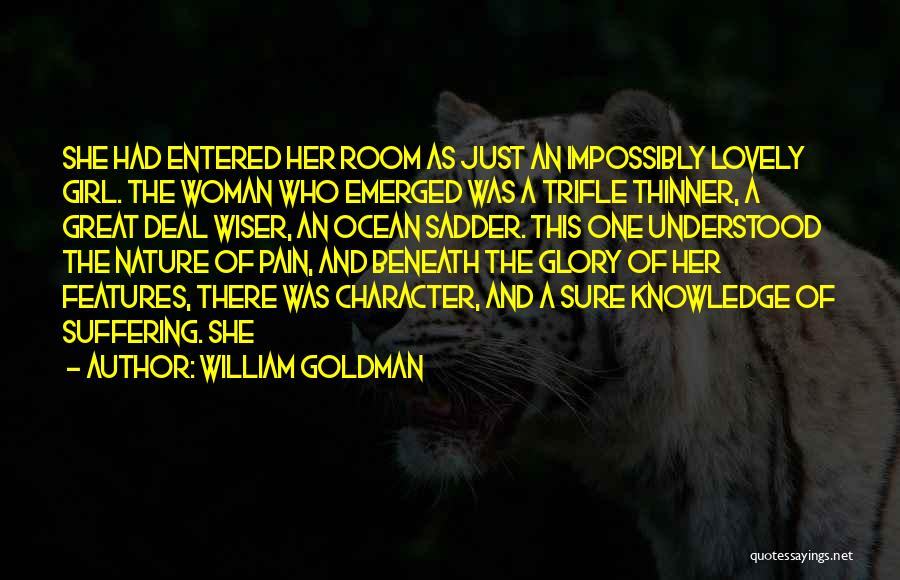 No Pain No Glory Quotes By William Goldman