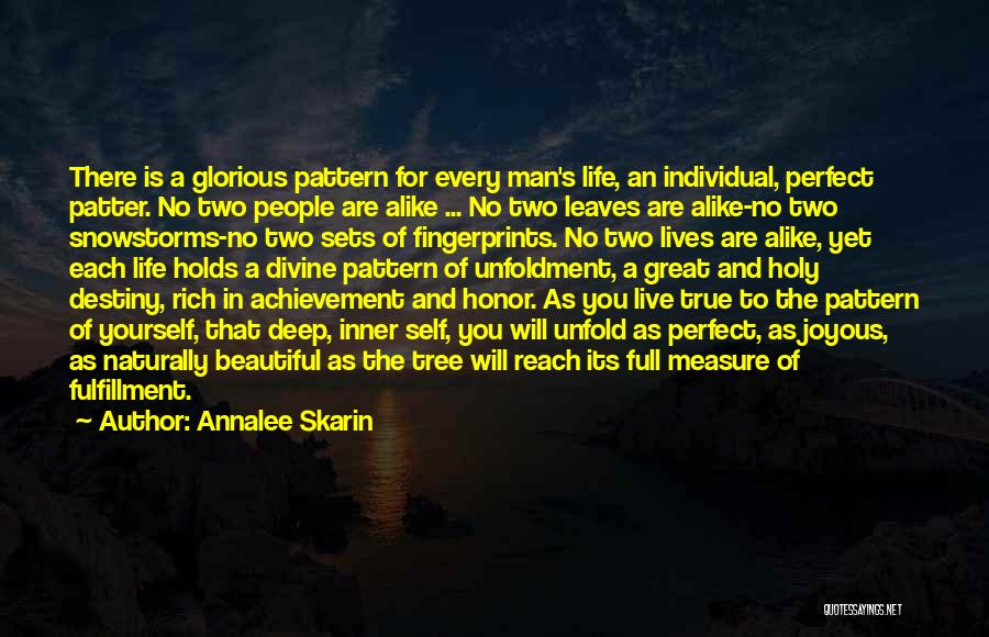 No Perfect Man Quotes By Annalee Skarin