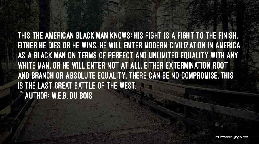 No Perfect Man Quotes By W.E.B. Du Bois