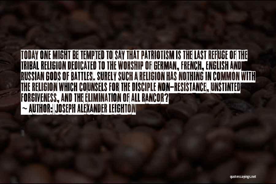 No Rancor Quotes By Joseph Alexander Leighton