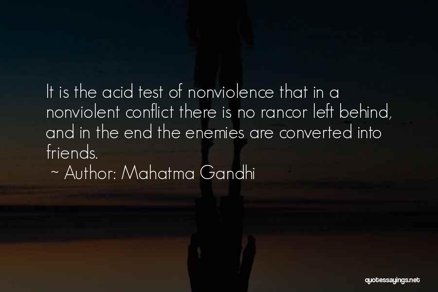 No Rancor Quotes By Mahatma Gandhi