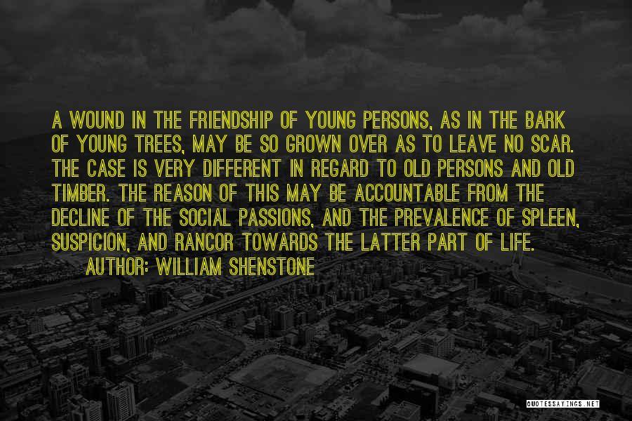 No Rancor Quotes By William Shenstone