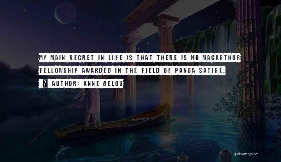 No Regret In Life Quotes By Anne Belov