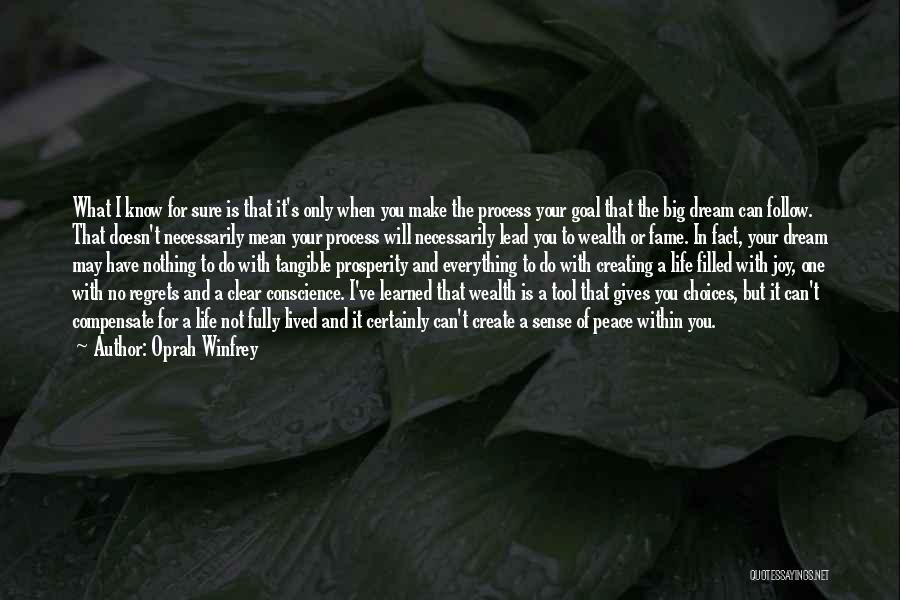 No Regret In Life Quotes By Oprah Winfrey