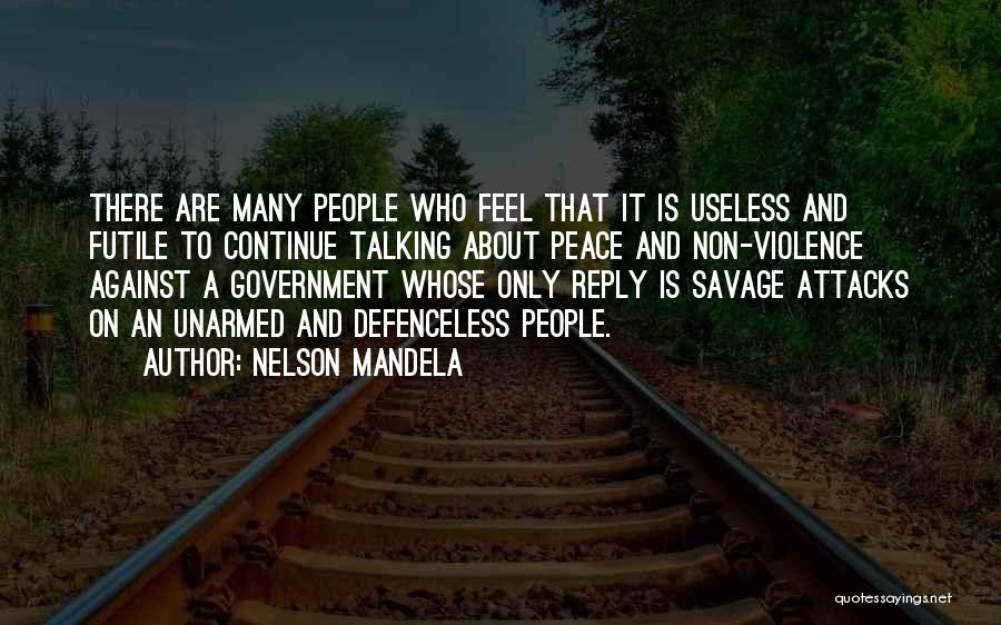 No Reply At All Quotes By Nelson Mandela