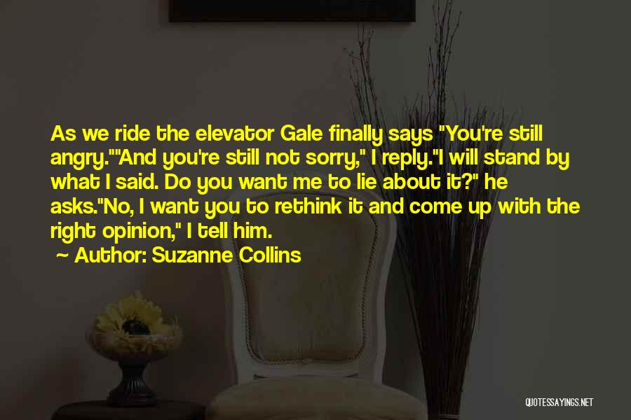 No Reply At All Quotes By Suzanne Collins