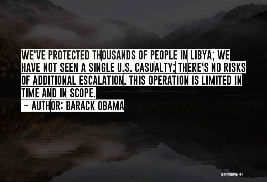 No Scope Quotes By Barack Obama