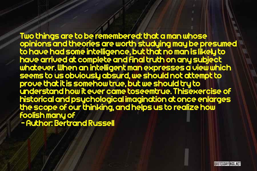 No Scope Quotes By Bertrand Russell