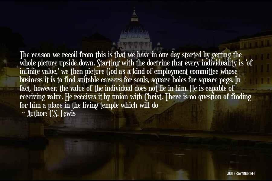 No Scope Quotes By C.S. Lewis