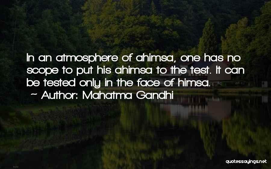 No Scope Quotes By Mahatma Gandhi