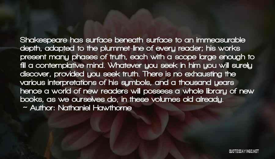 No Scope Quotes By Nathaniel Hawthorne