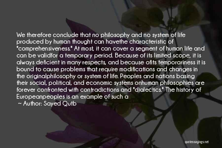 No Scope Quotes By Sayed Qutb