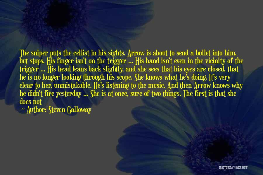 No Scope Quotes By Steven Galloway