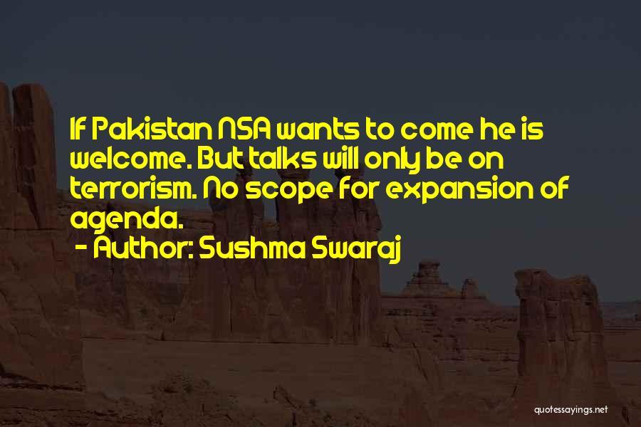 No Scope Quotes By Sushma Swaraj