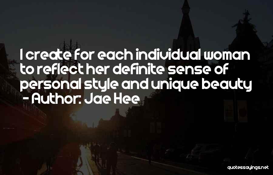 No Sense Of Style Quotes By Jae Hee