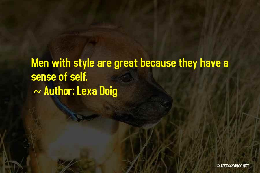 No Sense Of Style Quotes By Lexa Doig