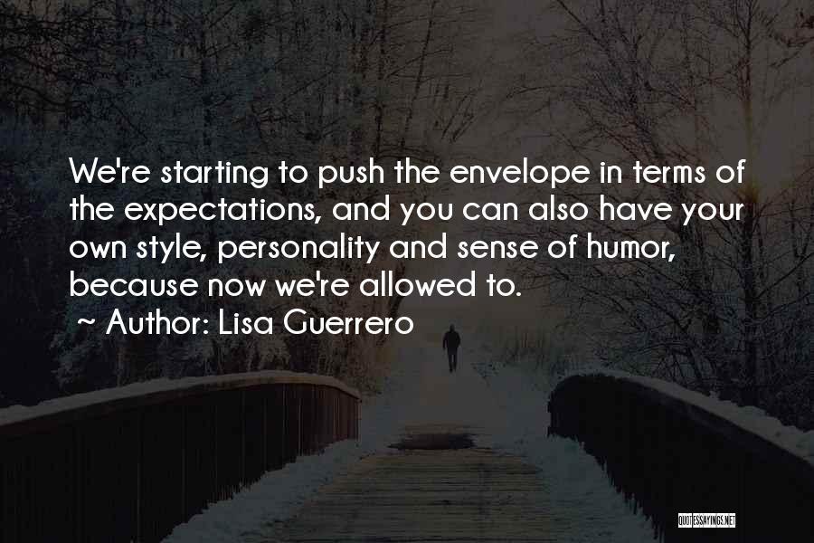 No Sense Of Style Quotes By Lisa Guerrero