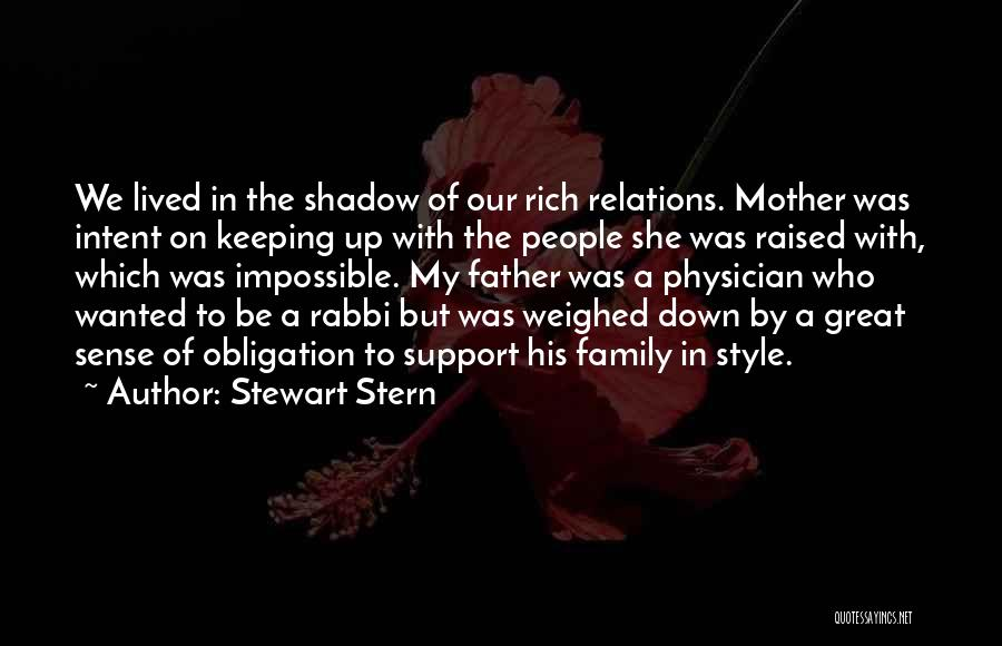No Sense Of Style Quotes By Stewart Stern
