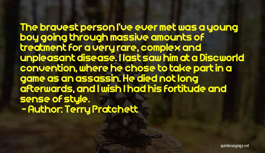 No Sense Of Style Quotes By Terry Pratchett